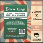 8814 Sleeve Kings WOTR 70 X 120mm
