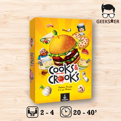 Cook & Crooks + 5th Player Exp [KS Edition]