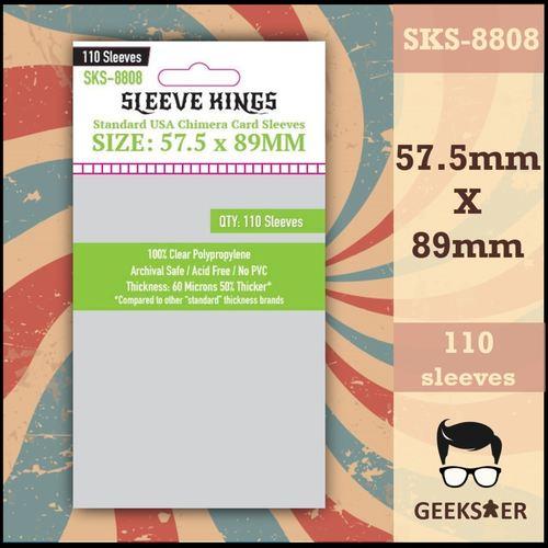 8808 Sleeve Kings Standard USA Chimera 57.5 X 89mm