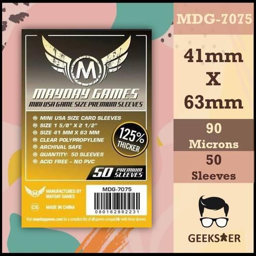 7075 Mayday Premium Mini USA 41 x 63mm