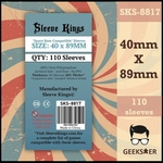 8817 Sleeve Kings Space Base Compatible 40 X 89mm