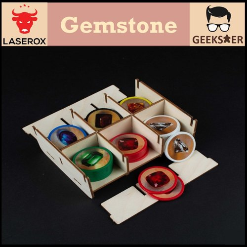 Gemstone Organizer [Free 1 LaserOx Glue]