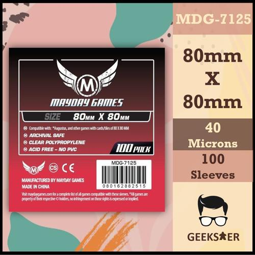 7125 Mayday Standard Medium Square 80 x 80mm