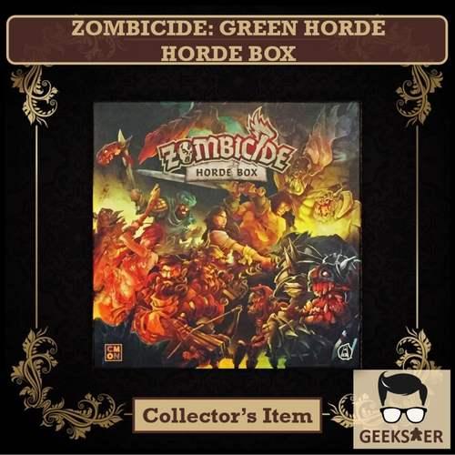 Zombicide Green Horde Horde Box Dented