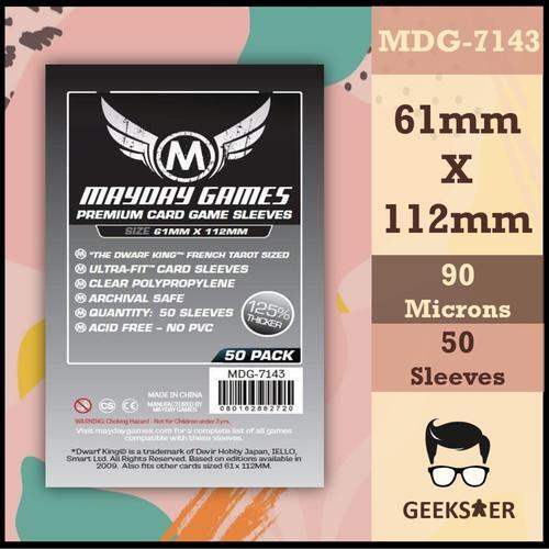 7143 Mayday Premium Dwarf King Tarot 61 X 112mm