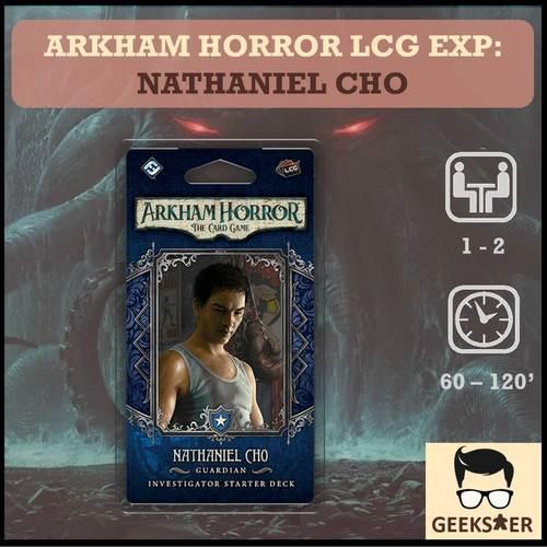 Arkham Horror LCG Exp - Nathaniel Cho Investigator Starter Deck