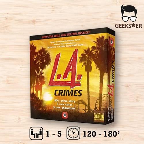 Detective Exp L.A. Crimes