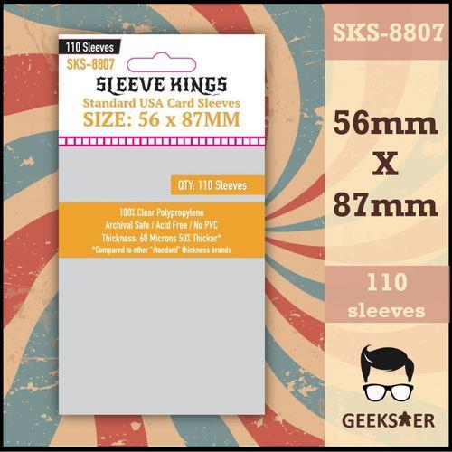 8807 Sleeve Kings Standard USA 56 X 87mm