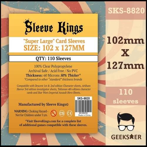 8820 Sleeve Kings Super Large 102 X 127mm