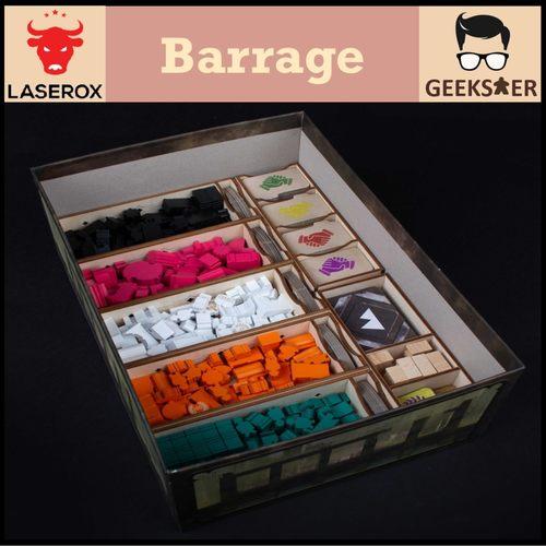 Barrage Organizer [Free 1 LaserOx Glue]