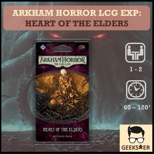 Arkham Horror LCG Exp - Heart of the Elders
