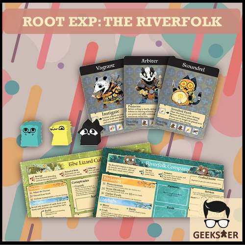 Root Exp The Riverfolk 1st Ed. 5th Printing, 2020