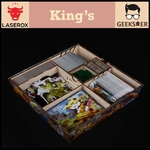 King's Organizer [Free 1 LaserOx Glue]