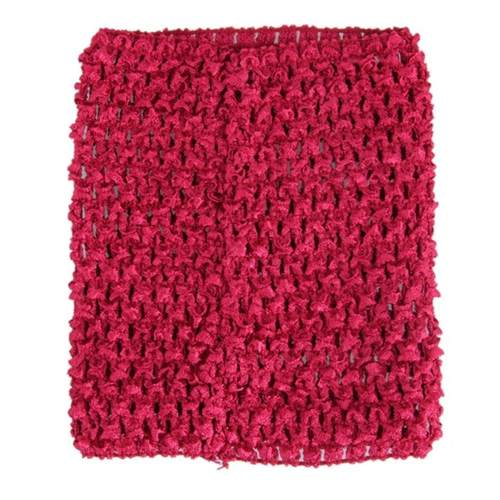 TuTu Crochet Tube Top 6 inches - Choose Colours