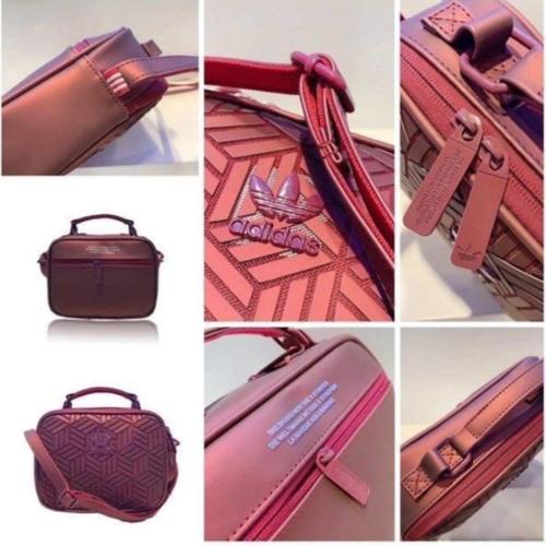 Adidas Issey Miyake shoulder bag maroon