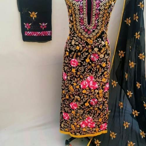 Premium Georgette Handicraft suits
