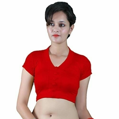TRENDY COTTON LYCRA HOSIERY BLOUSES, MORE COLOR OPTIONS AVAILABLE WHATSAAP US.