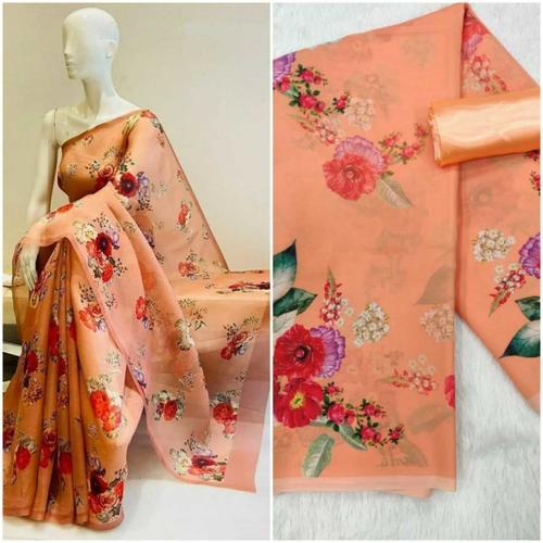 Celebrity Style Print Saree