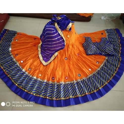 Designer Printed Bangalore Lehenga with Designer Blouse