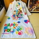 HOLI SPECIAL KURTI FOR GIRLS