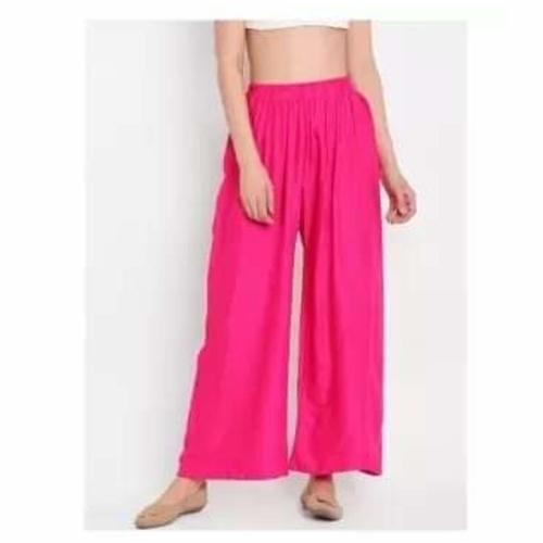 Summer wear Rayon plazo