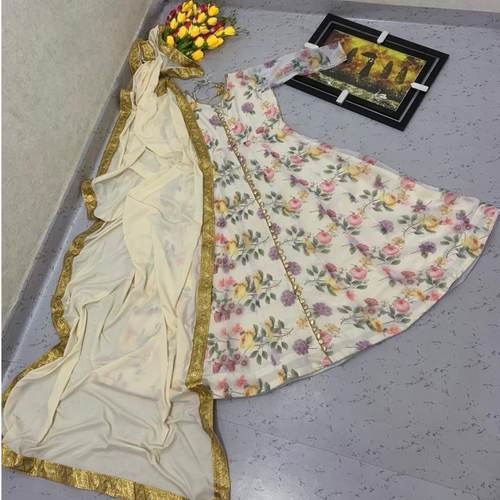 NEW LAUNCHING GOWN WITH DUPATTA