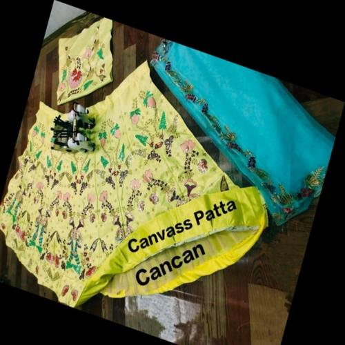 LAUNCHING MOST DEMANDING LEHENGA WITH CANCAN AND CANVAS PATTA