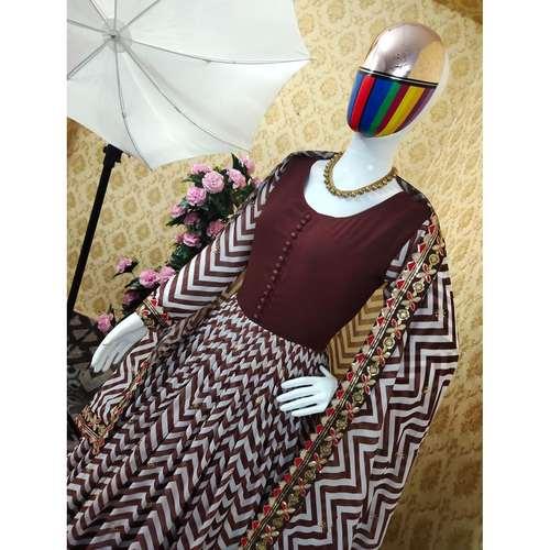 Digital Printed Gown