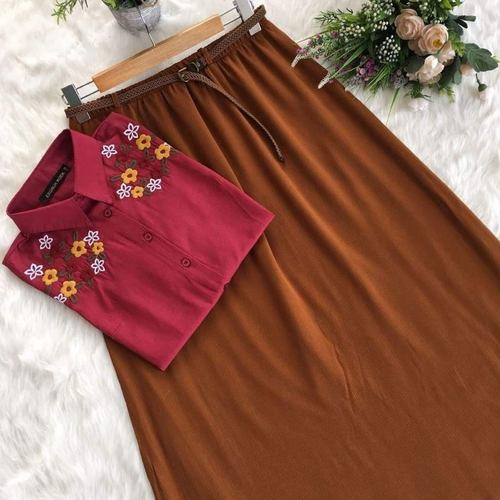 Designer Top With Skirt