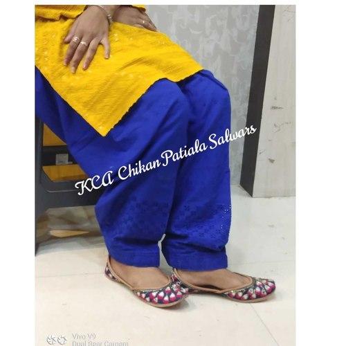KCA Chikan Patiala Salwars*