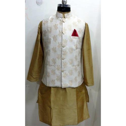 Designer Modi/Nehru Jacket with kurta pajama