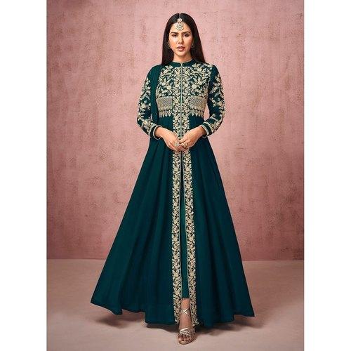 Pant Style Anarkali Suit