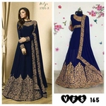 GOWN FOX GEORGETTE DUPPTTA , Ask more colors whatsaap us.