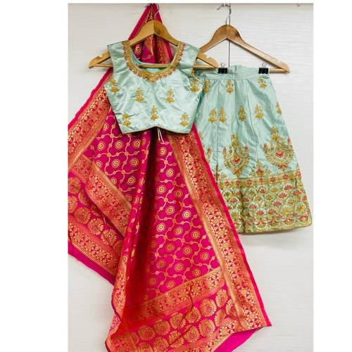 Kids lehenga ultra satin
