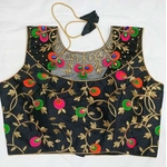 designer multi color blouse