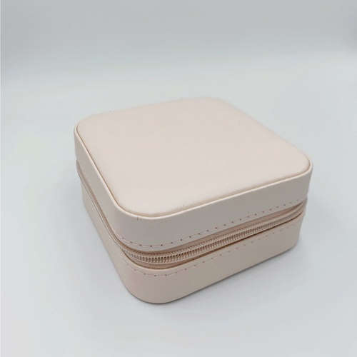Blush Pink Jewelry Case The Coeur Studio