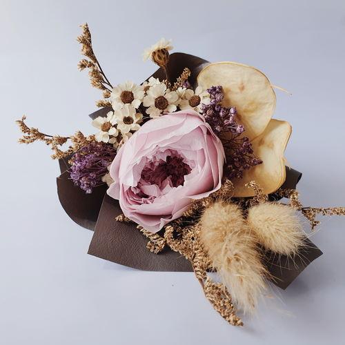 Super Petite David Austin Garden Rose Bouquet Valentines Special