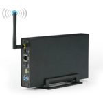 Personal NAS with WiFi Hotspot