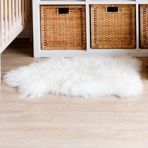 Sheep Animal Skin Rug Dry Clean