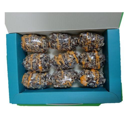 Royal Safawi Date, Orange Peel with Roasted Almond