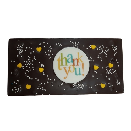 Thank You Chocolate Greeting Card BAR