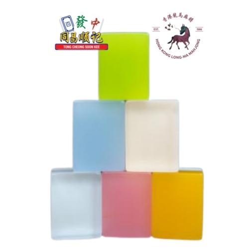 LONGMA Crystal Series Mahjong Set