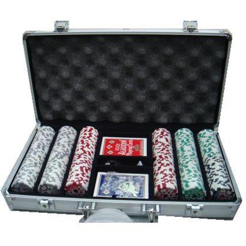Chips Metal Box Set w Poker
