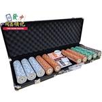 Monte Carlo Poker Club Chips Set