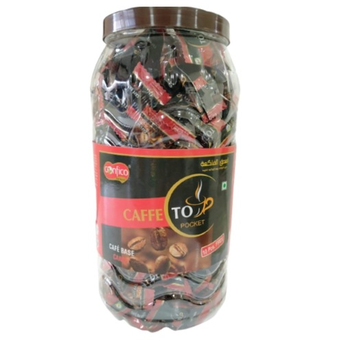 Confico Cappuccino Coffee Flavoured Candy Jar Mrp 220