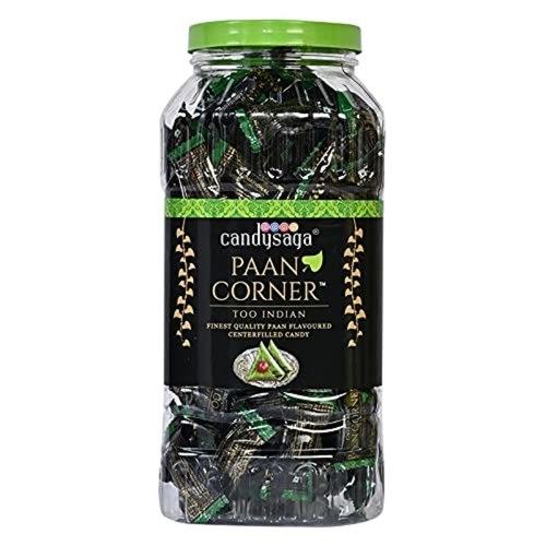 Creando Candysaga Paan Corner Paan Flavoured Candy Jar Pack of 2-1752350 Pcs