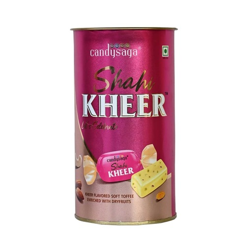 Creando Candysaga Sweet chew Candy Tasty Mouthwatering Shahi Kheer Toffees- 30 pc Each Box -Pack of 1