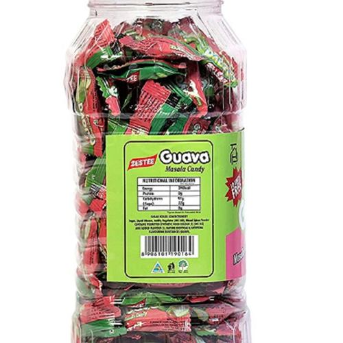 ZESTEE Masala Candy Guava Jar Mouthwatering Taste - Pack Of 1