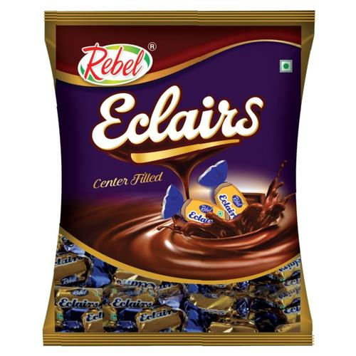 Rebel Eclairs Center Filled Toffee  Pack of 2