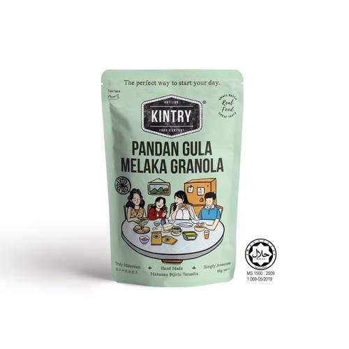 KINTRY Pandan Gula Melaka Granola 60g Halal